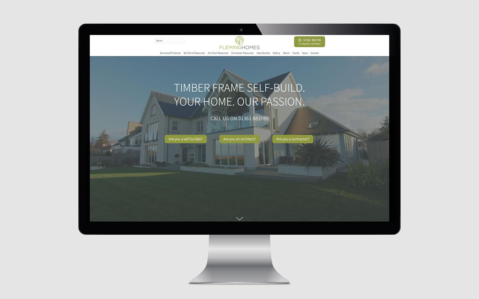 Fleming Homes website